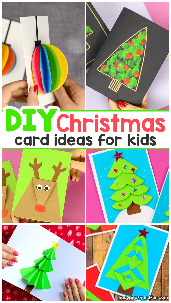 diy christmas card ideas easy peasy and fun. Black Bedroom Furniture Sets. Home Design Ideas