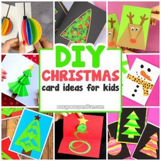 DIY Christmas Card Ideas for Kids to Make