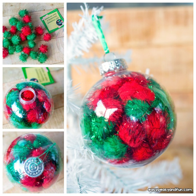 Easy DIY Christmas Ornament Craft Idea