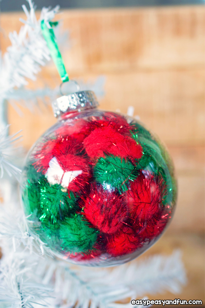 Easy DIY Christmas Ornament Craft for Kids