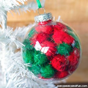 Easy DIY Christmas Ornament for Kids