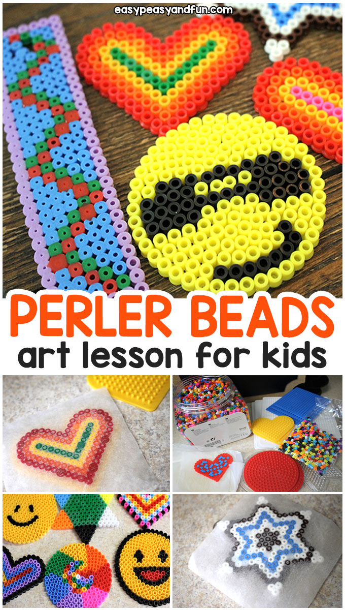 Perler Beads for Kids Art Class Tips and Tricks - Easy Peasy
