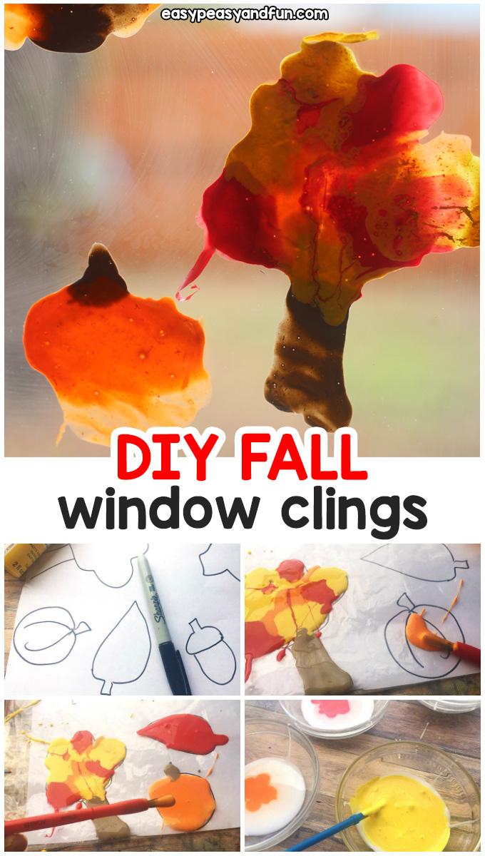 Fall Window Clings