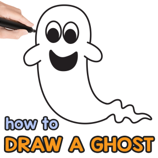 Ghost Directed Drawing Guide