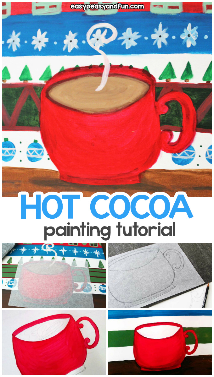 Hot Cocoa Painting Tutorial