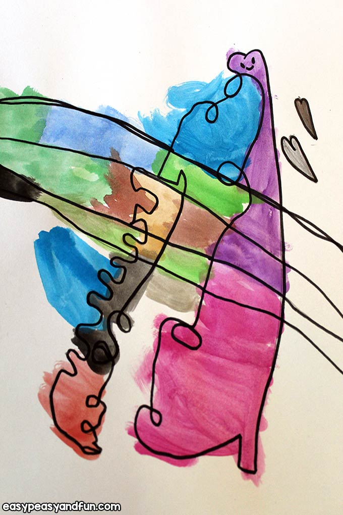 Joan Miro Art for Kids
