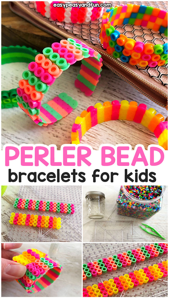 How to Make Perler Bead Bracelets for Kids
