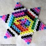 Perler Beads Star