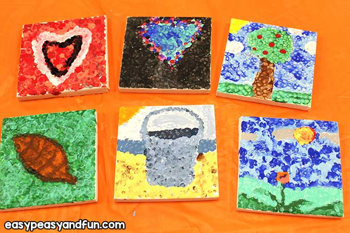 Pointillism Art Lesson for Kids