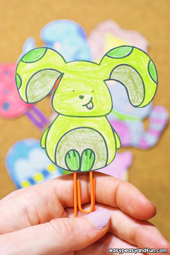 DIY Paper Clip Bookmarks Classroom Idea