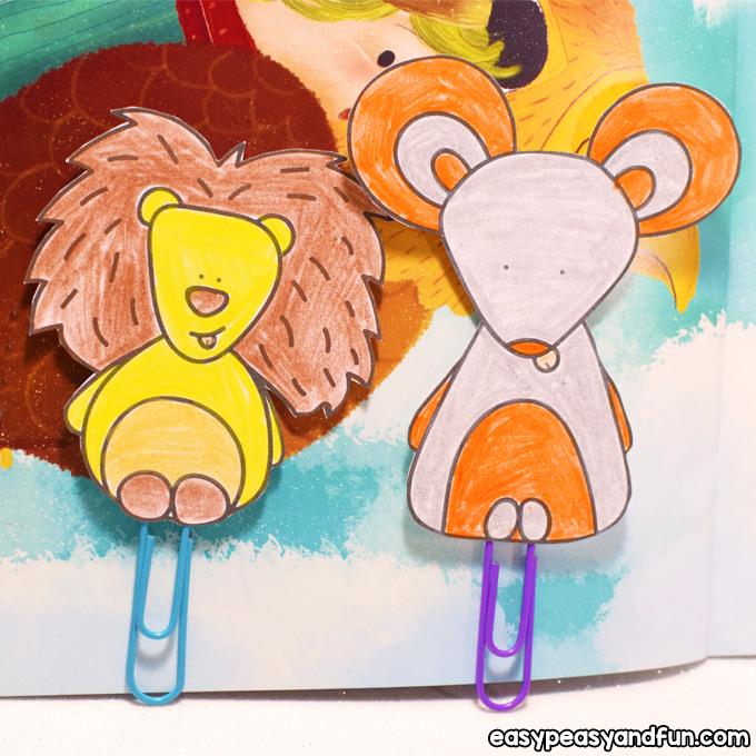 DIY Paper Clip Bookmarks Idea for Kids