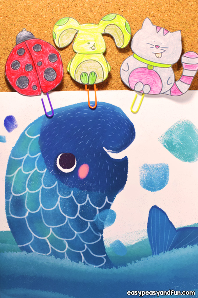 DIY Paper Clip Bookmarks for Kids to Make