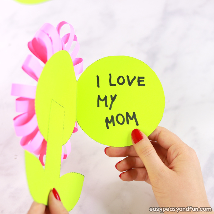 Flower Mothers Day Card