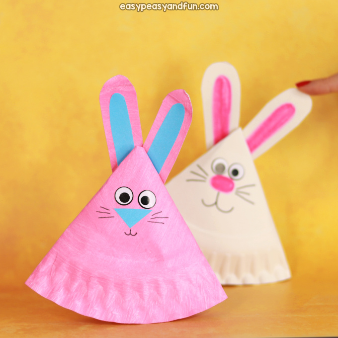 Rocking Paper Plate Bunny