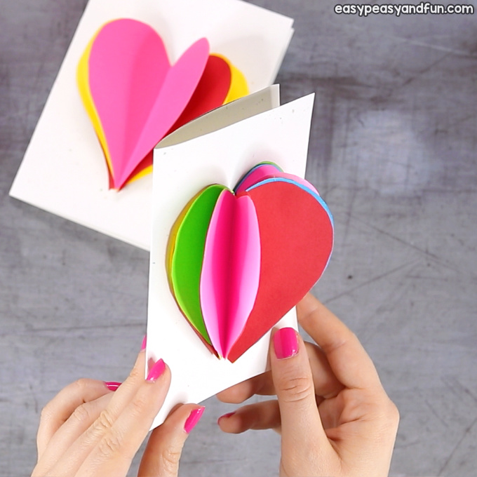 3D Heart Card Idea