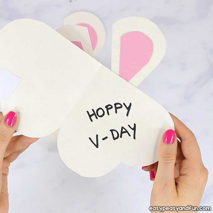 Heart Bunny Craft Idea