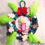 Paper Plate Christmas Wreath Craft for Kids