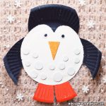 Paper Plate Penguin Craft for Kids to Make
