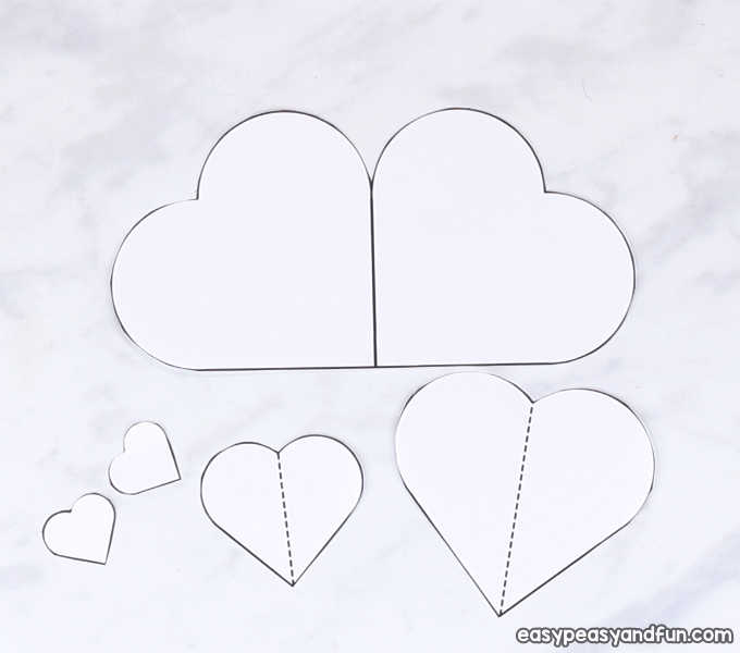 Heart Bunny Craft Cute Valentines Day Or Easter Craft Idea Easy