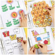 Printable Spring Quiet Book – Activity Book for Pre-K and K