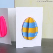 3D Easter Egg Card