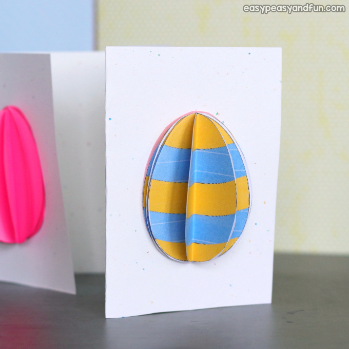 3D Easter Egg Card Idea