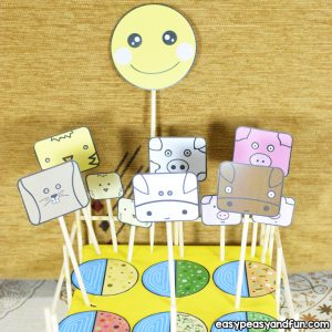Animal Farm Craft for Kids to Make