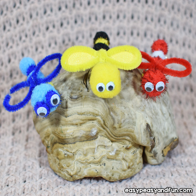 Bug Pipe Cleaner Crafts for Kids