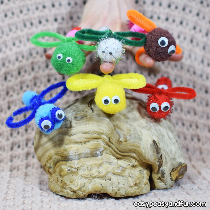 Bug Pipe Cleaner Crafts for Kids to Make