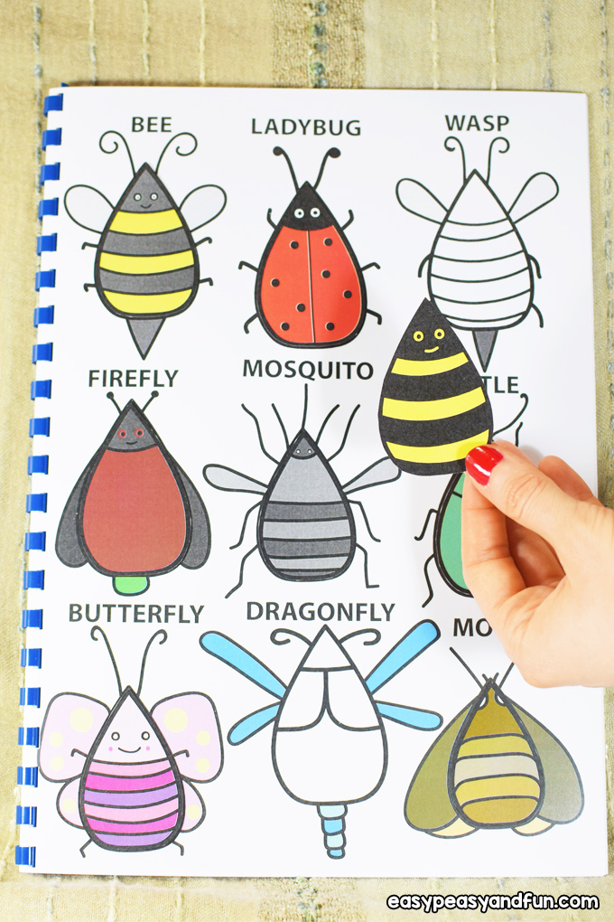 Colorful Quiet Book for Kids
