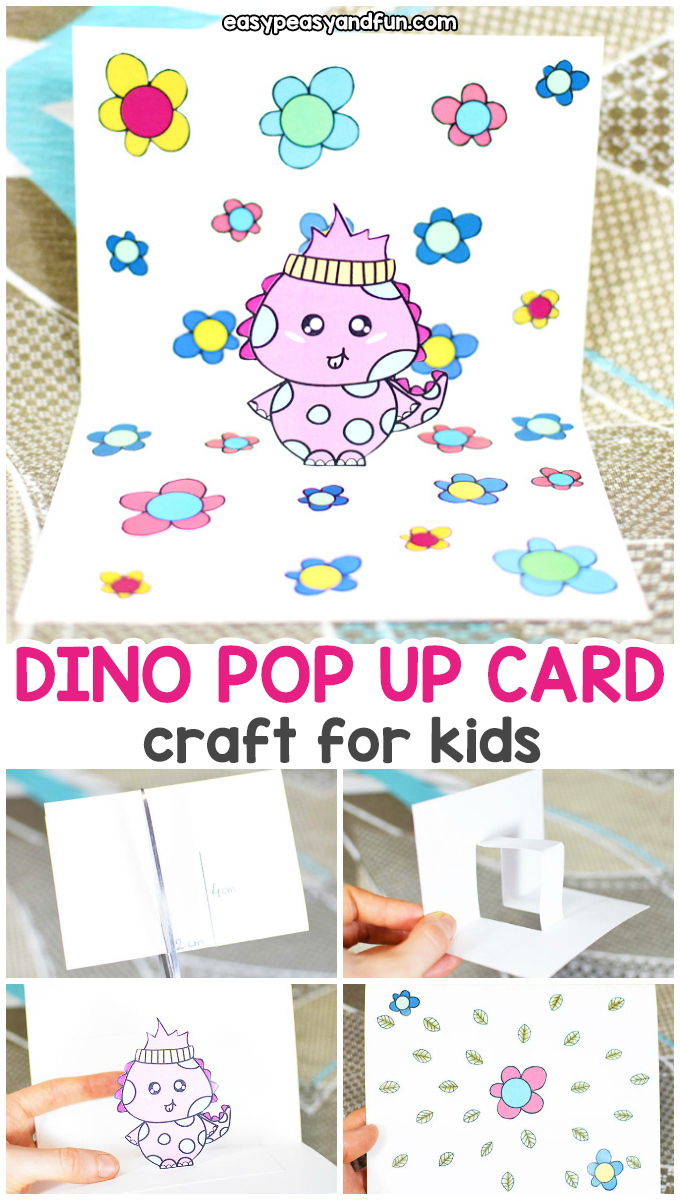 Dino Pop Up Card