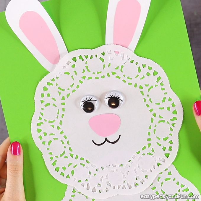 Doily Bunny Craft