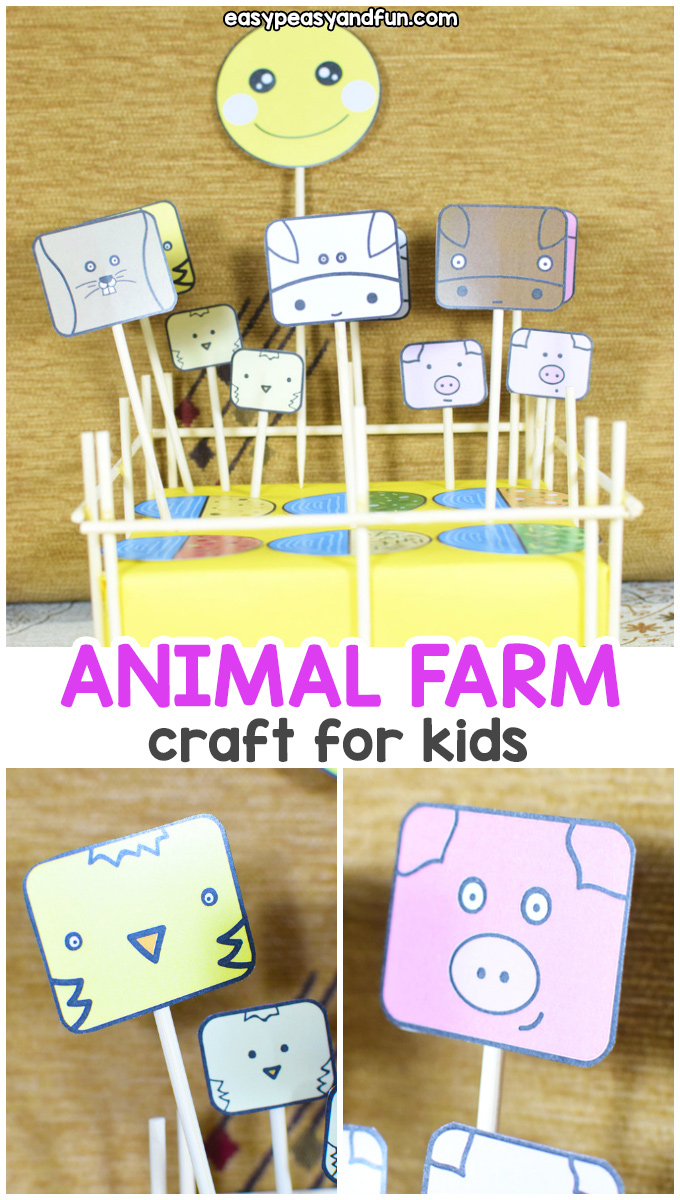 Make an Animal Farm - Make your Own Pretend Play Set
