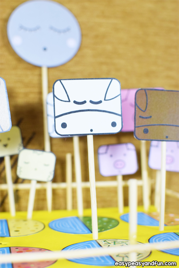 Make an Animal Farm Craft for Kids