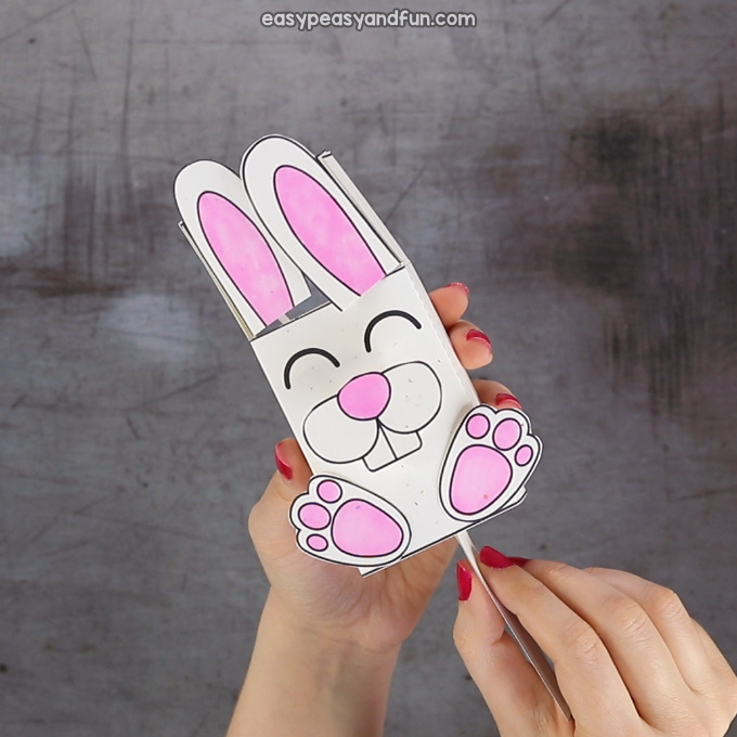 Movable Ears Bunny Craft
