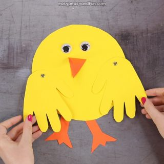 Movable Paper Chick Craft