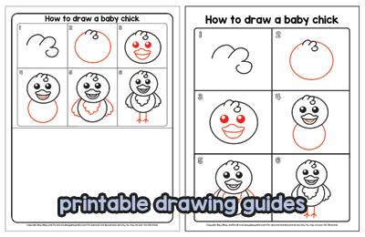 Printable Drawing Guides