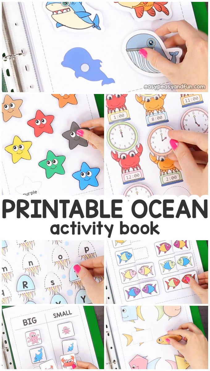 photo regarding Printable Ocean Animals called Printable Ocean Pets Tranquil Ebook - Straightforward Peasy and Exciting