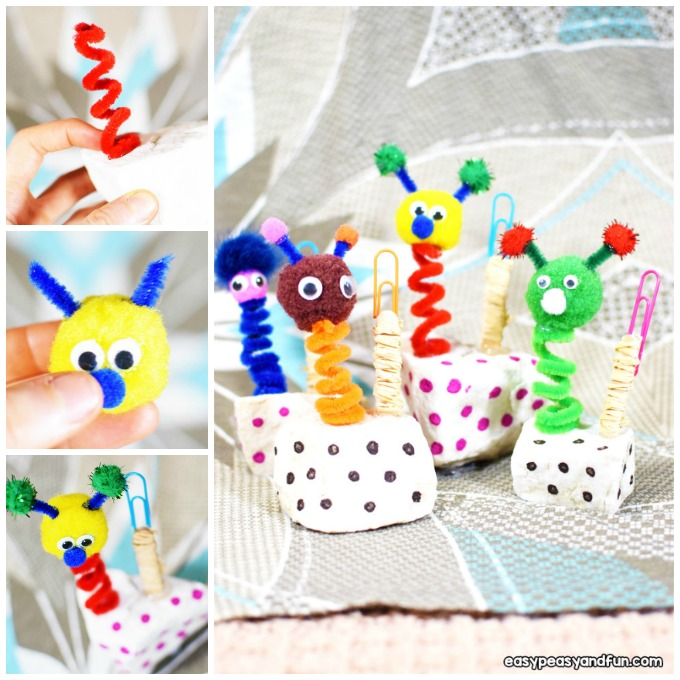 Puppet Wobbly Photo Holder Craft Idea