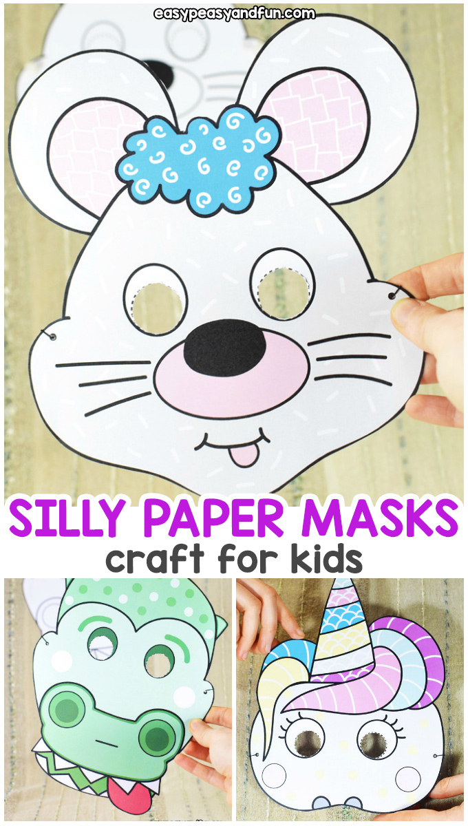 Silly Paper Masks