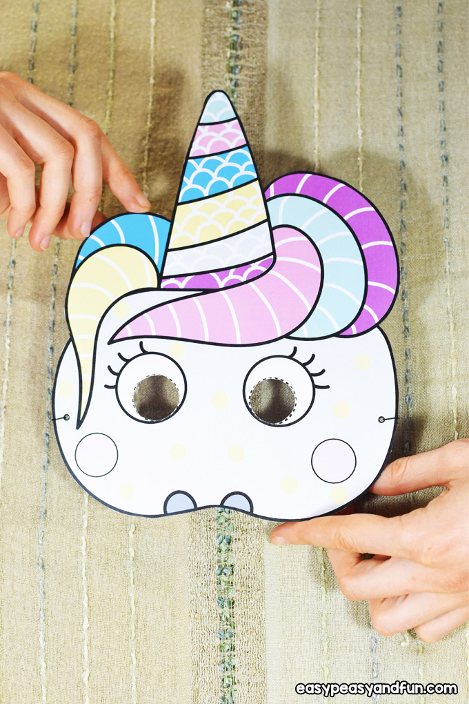 Silly Paper Masks Craft for Kids