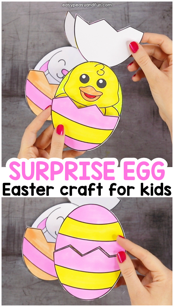 Surprise Easter Eggs Craft Easy