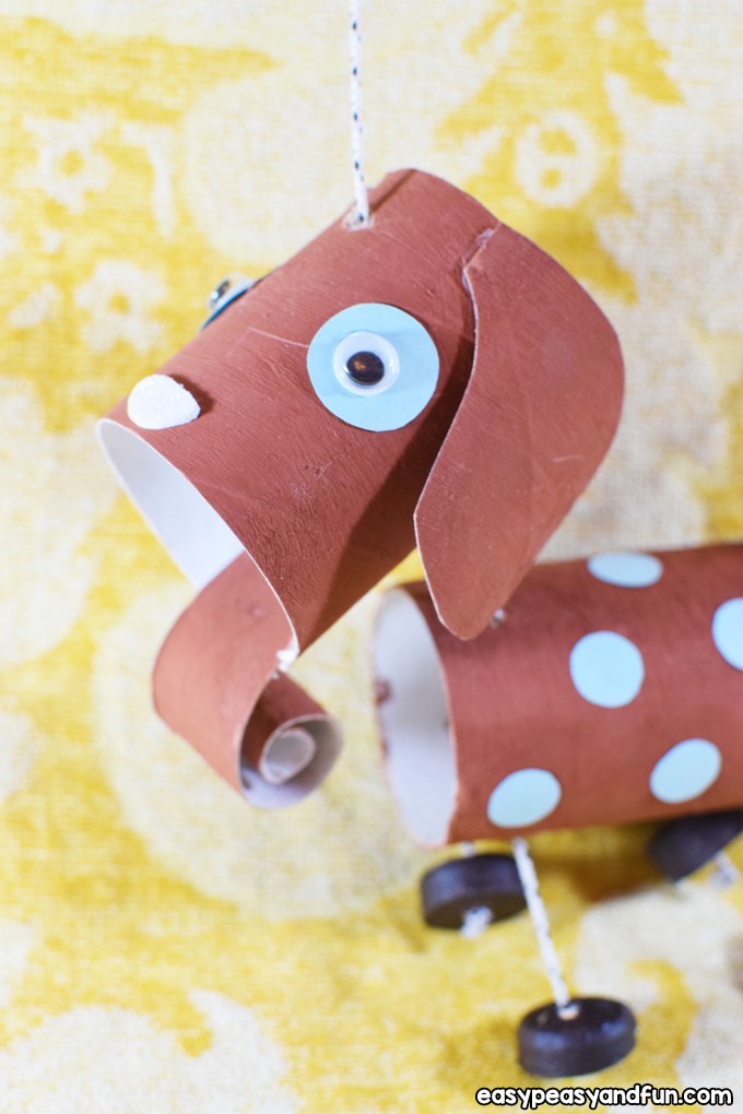 How to Make a Dog Marionette Craft