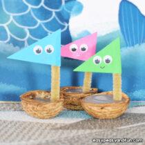 Walnut Boats – Walnut Craft Idea