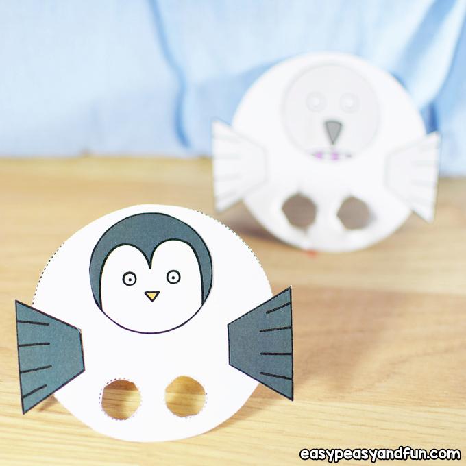 Bird Finger Puppets Craft for Kids to Make