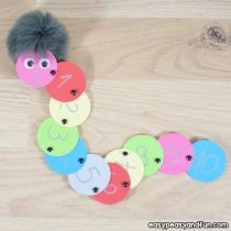 Counting Caterpillar Craft