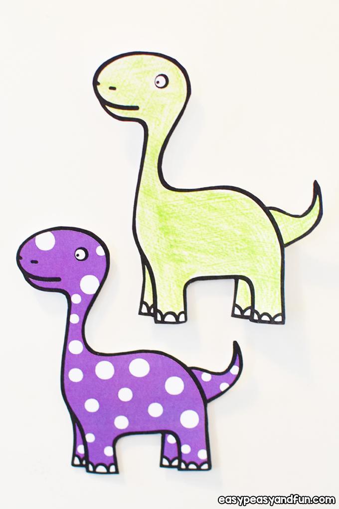 DIY Dinosaur Fridge Magnets for Kids