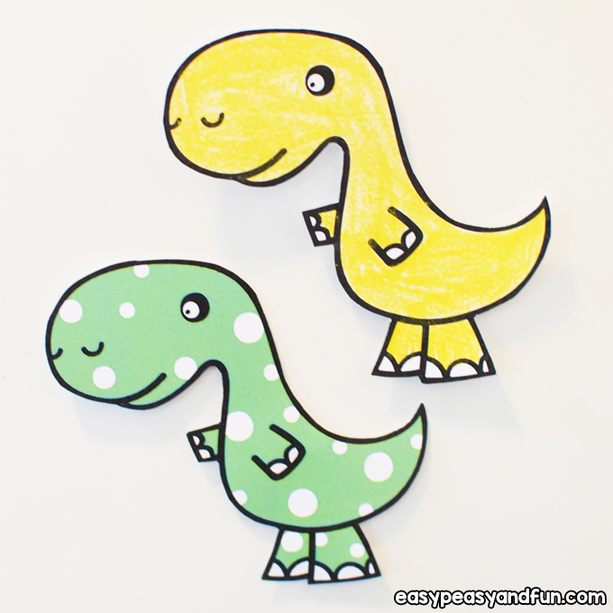 DIY Dinosaur Fridge Magnets for Kids to Make