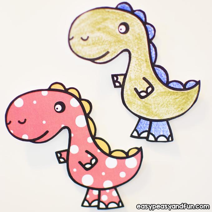 DIY Dinosaur Fridge Magnets for Kids to Make