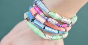 How to Make Paper Beads Paper Craft Idea for Kids to Make